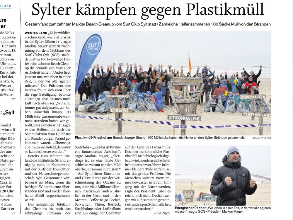 10. SCS Beach Cleanup Sylt 2018