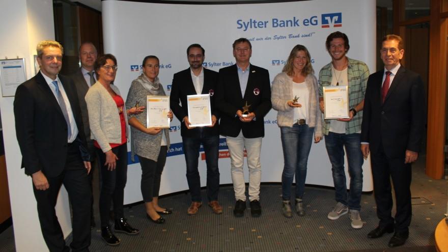 Die Sieger der Sterne // (c) Sylter Bank