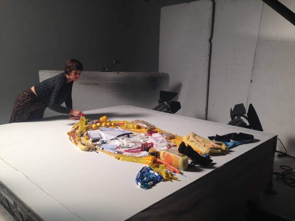 Beakus - Natwest stop-motion photoshoot behind-the-scenes