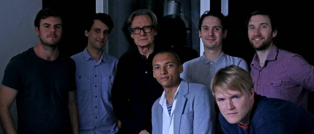 Beakus - Cast and Crew of The Hungry Corpse, with Bill Nighy.