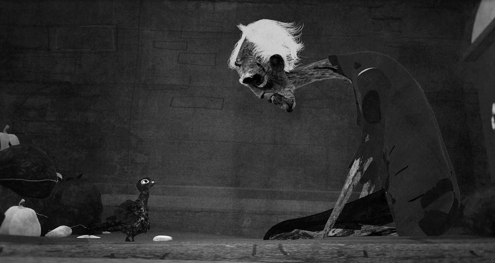 Beakus - Still from animated short - The Hungry Corpse