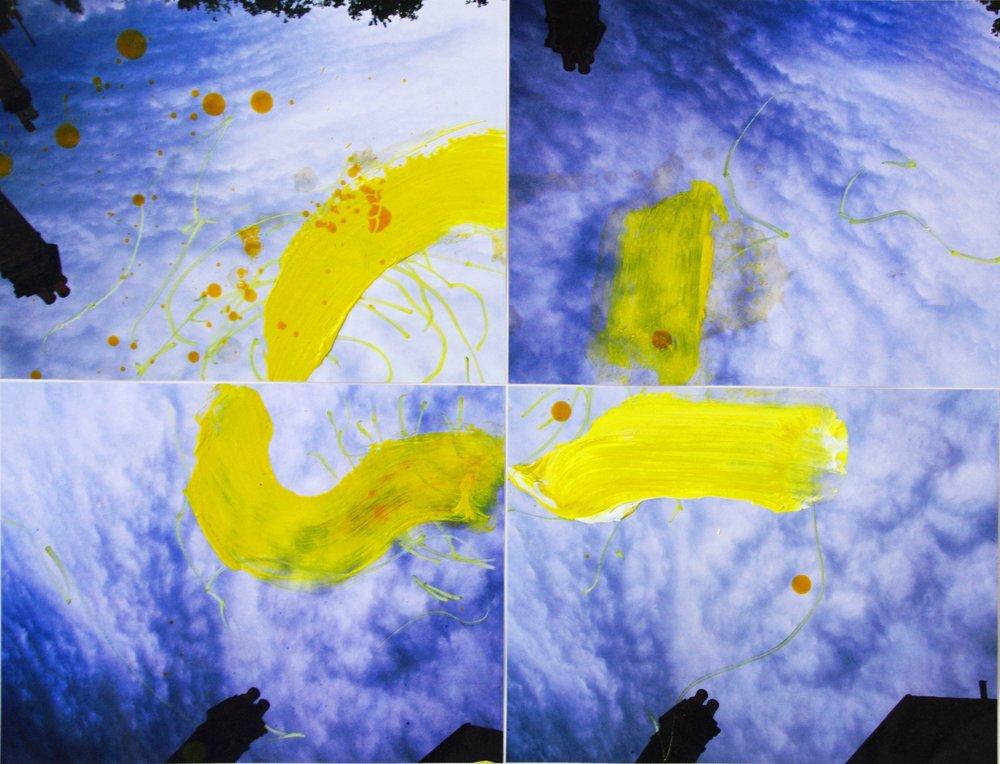 turners sky 100 x 90cm