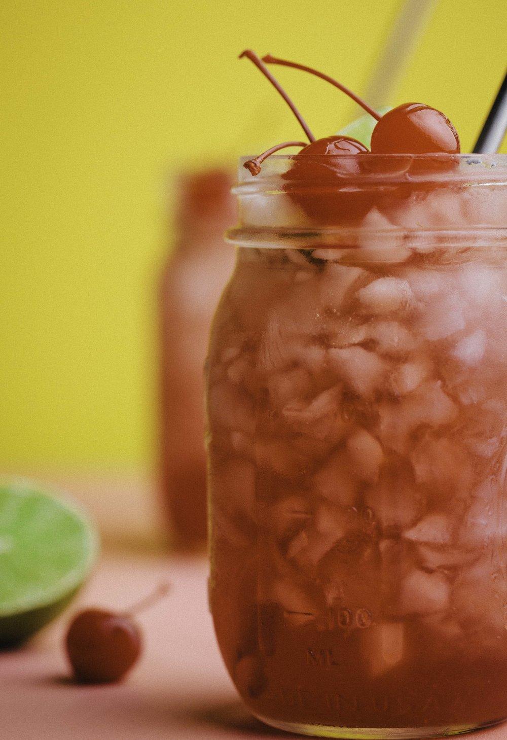 Tipsy Cherry Limeade