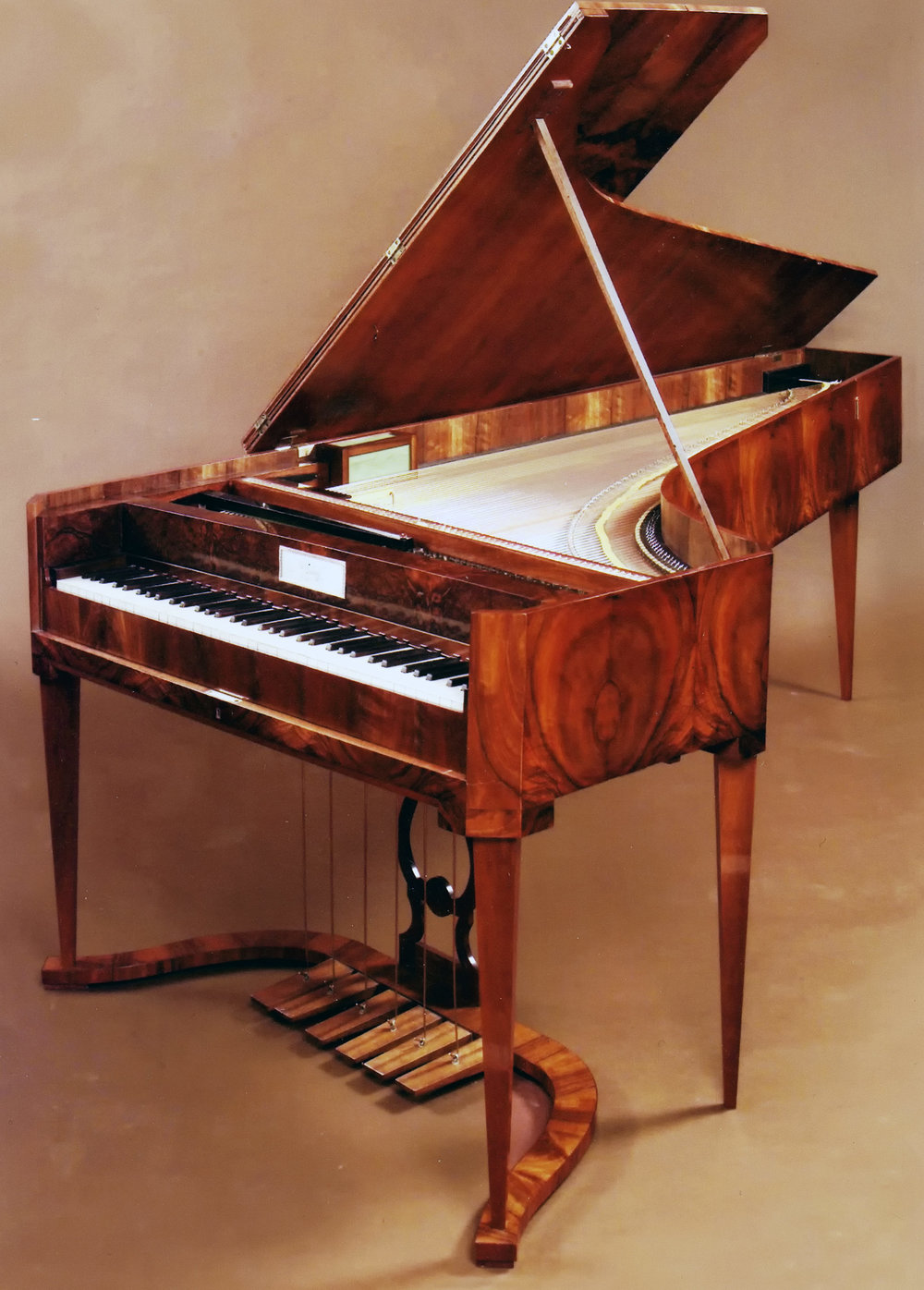 Le Pianoforte de Jakob Bertsche,  Vienne, vers 1810/1815 Collection de Pierre Bouyer
