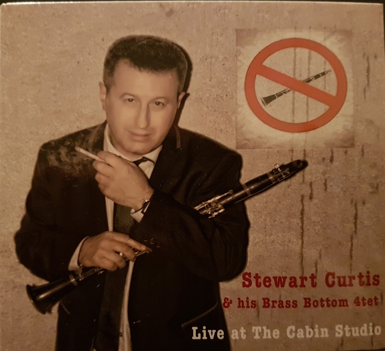 "Stewart Curtis & his Brass Bottom 4tet ""Live at The Cabin Studio"" 33 Records 2014"