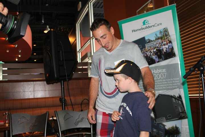 Auction with Brad Marchand