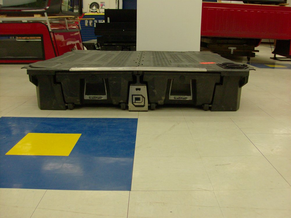 "U-6047  Decked system for a 2015-C F150 with a 5' 5"" extra short bed. Showroom price $700.00"
