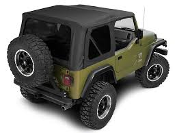 699615  Tinted zip-in side and rear windows for a 1997-2006 Wrangler.  Denim black in color.  Showroom price $179.99.