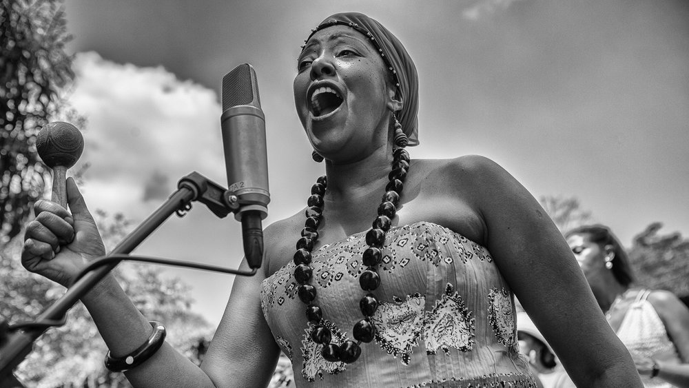 BETSAYDA MACHADO  /    Venezuelan Afro Soul