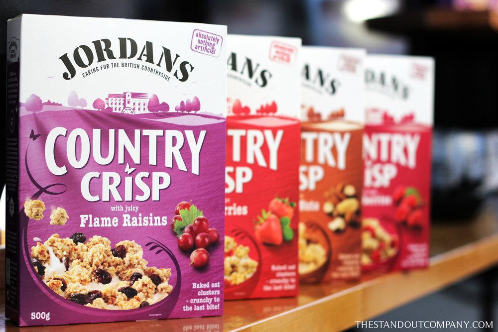 Jordans Cereal @ Kensington Olympia.