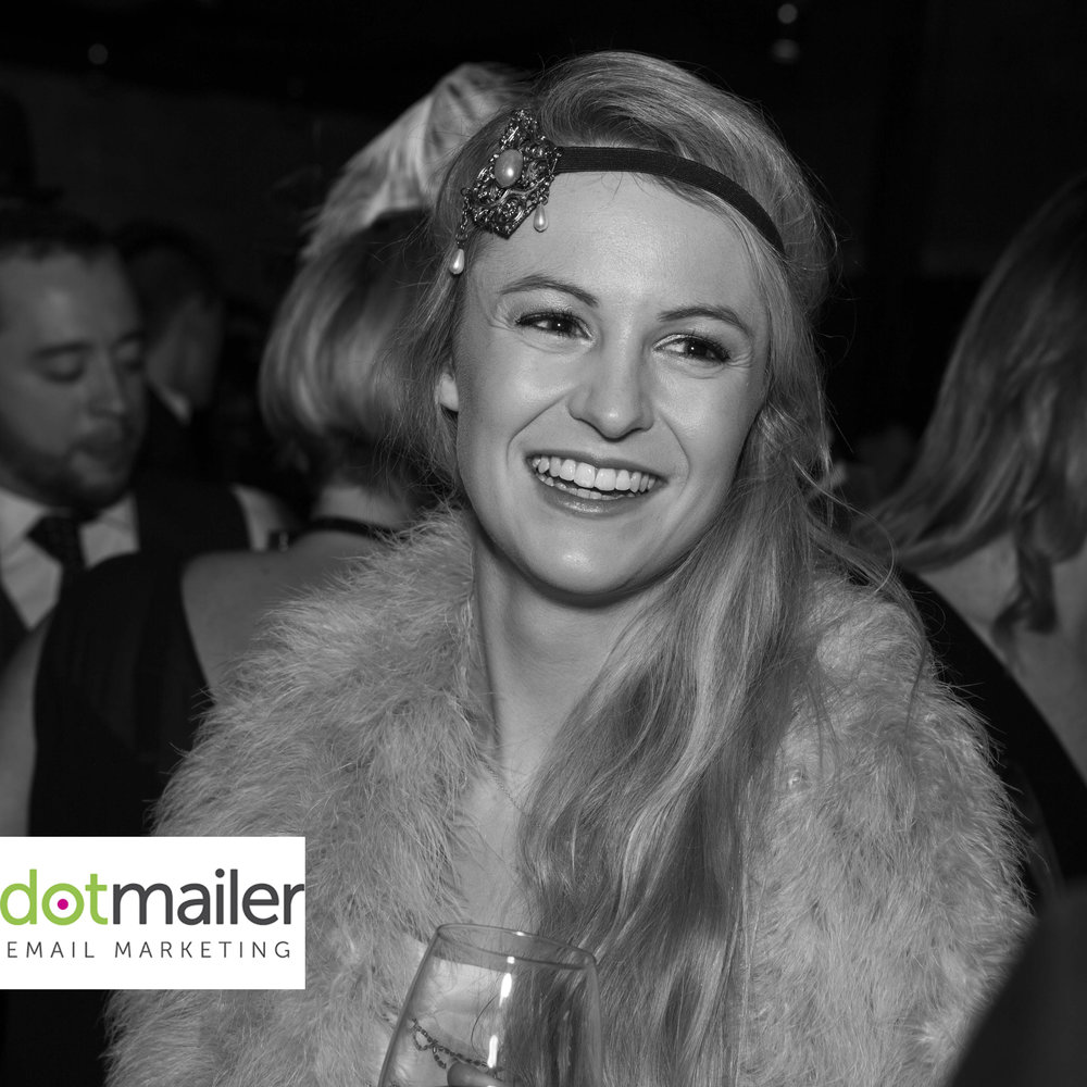 Dot Mailer, Great Gatsby Event.