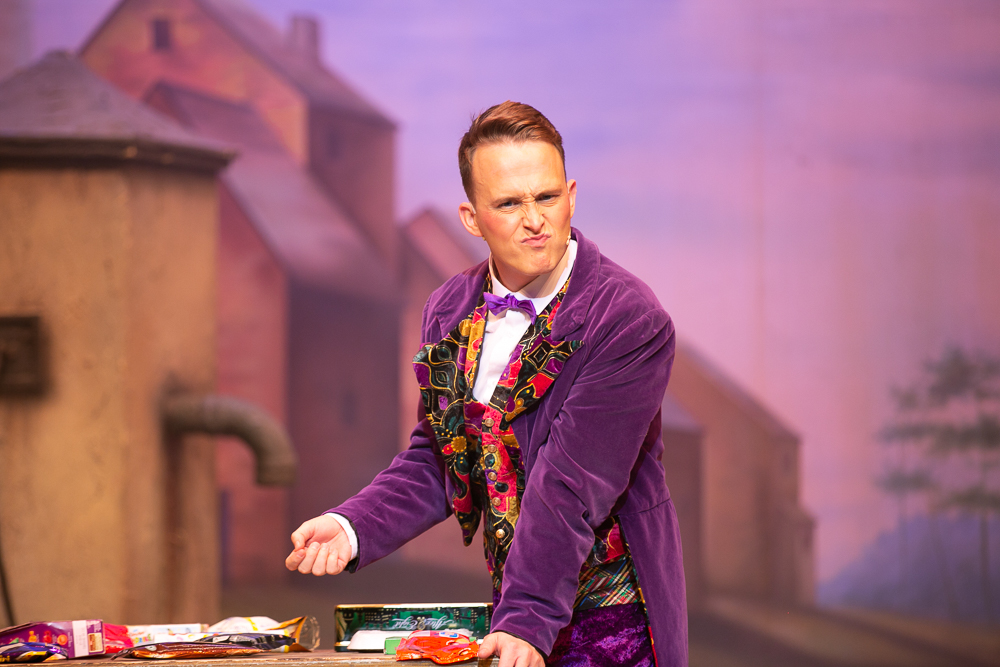 Andrew Curphey   playing French Franc in Polka Dot Pantomimes,   Beauty & the Beast  .