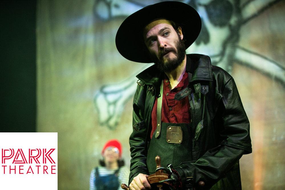 Versailles & Merlin favourite,   Alexander Vlahos   playing Captain Hook in   Peter Pan   @ The Park Theatre.