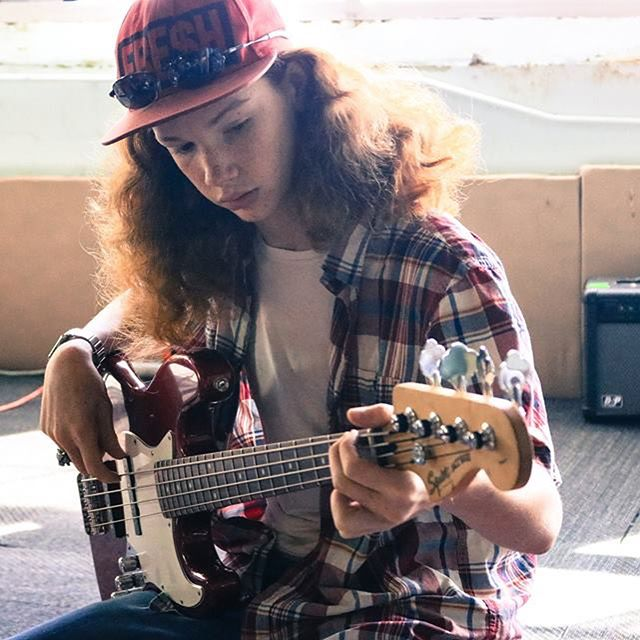 "This week's Summer Student Highlight is Timothy... ""This is my second summer with Behailu. I play bass guitar and like the music classes, they're awesome! One of my favorite memories is from last summer's ending performance, I liked being able to chill and listen to music with my friends!"" #BehailuSummerCamp #StrengthOvercameObstacles"