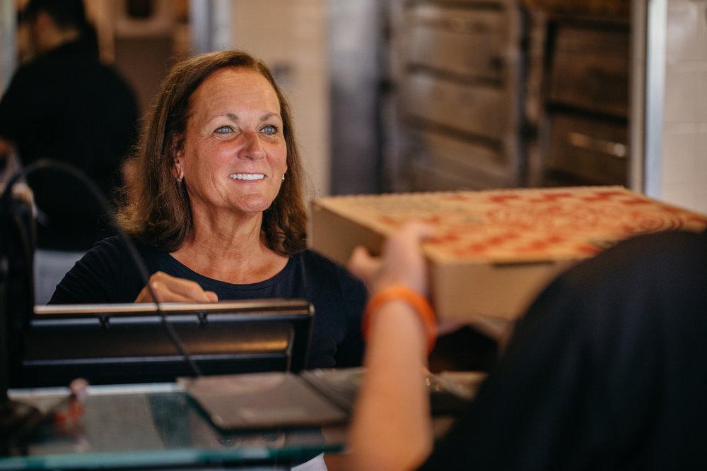 Customer Service at Tony's Pizza