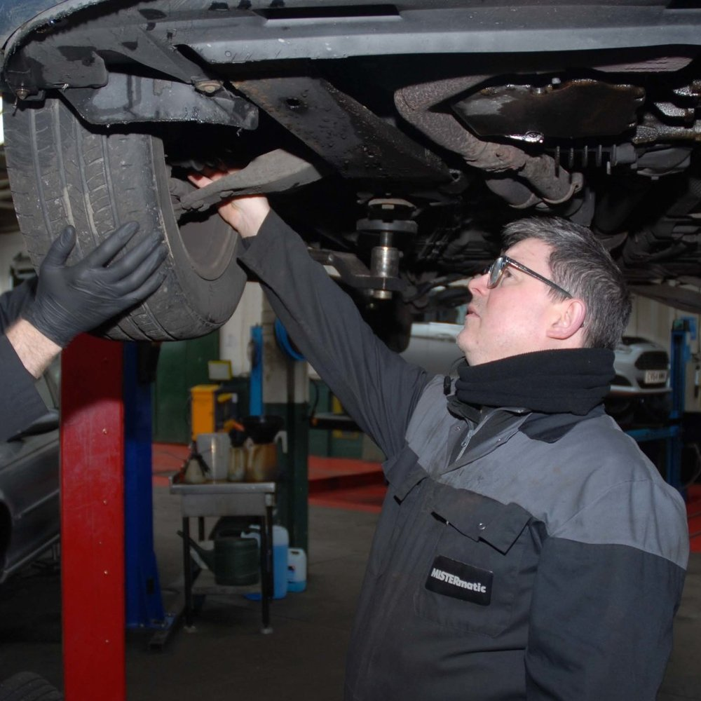 Krystian   Krystian joined us over 10 years ago as a fully qualified motor vehicle technician.  Krystian has brought his vast experience and knowledge to MISTERmatic and specialises in heavy repairs such as suspension and drive train.