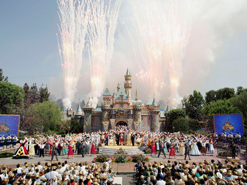 Disneyland 50th Anniversary Celebration -