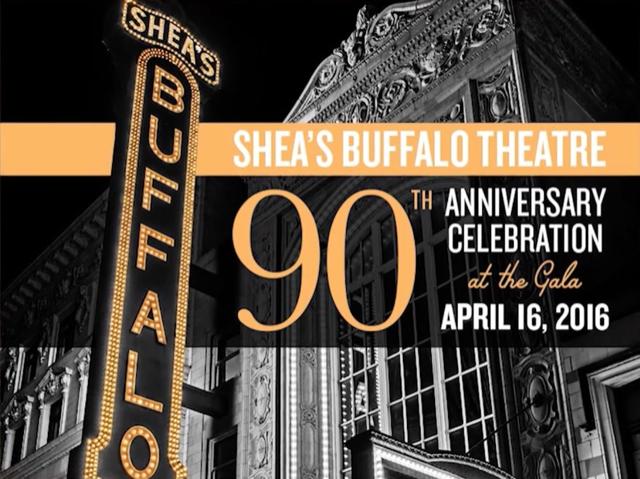 Shea's 90th Anniversary fundraising gala -