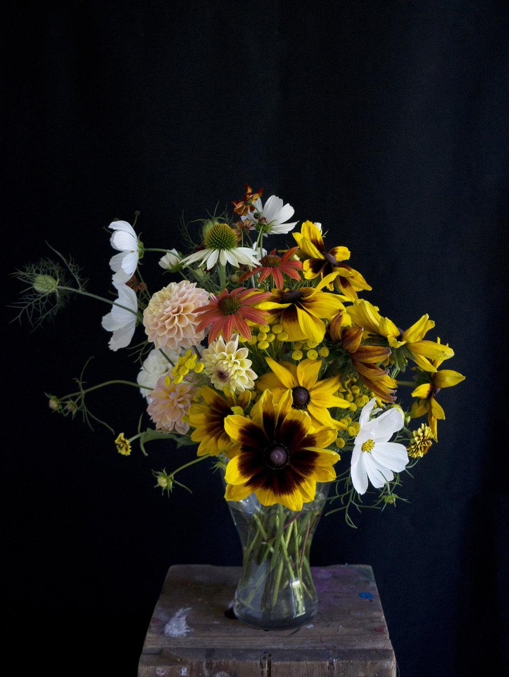 Efterårsbuket, specialbestilling