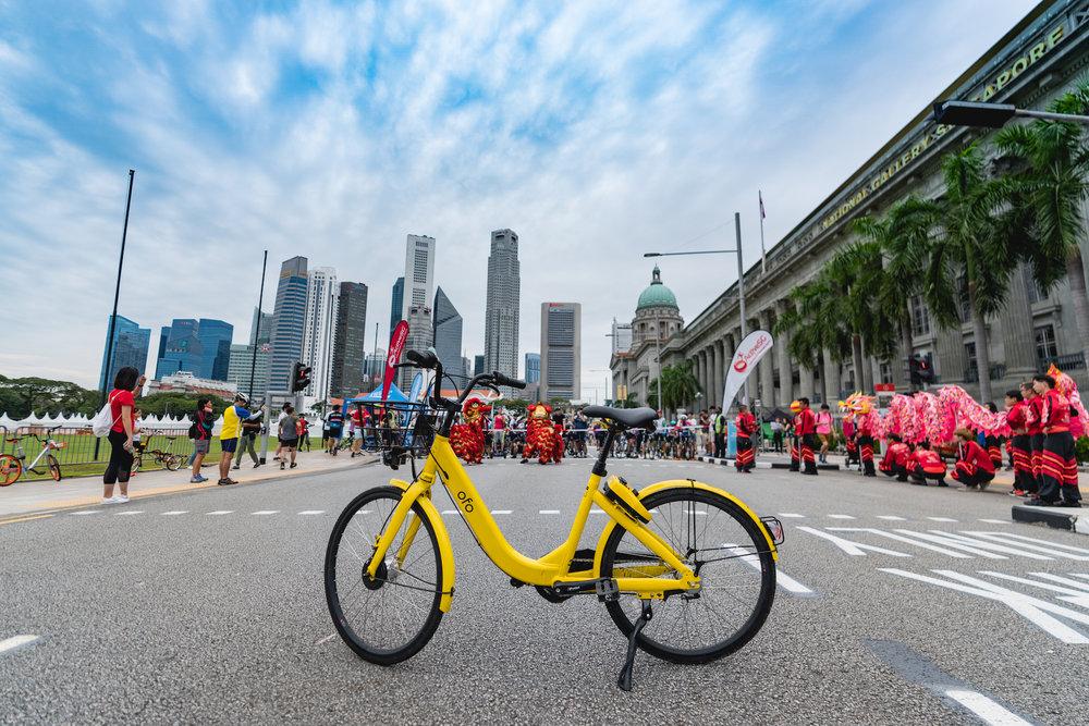 CARFREE SUNDAY - ofo Singapore