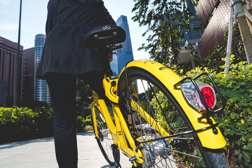 ofo Singapore - Social Outdoor Shoot