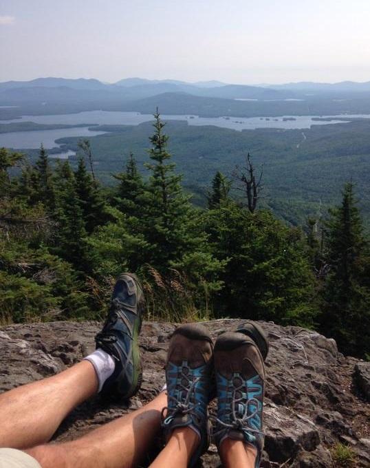 boots on Squaw Mt overlooking moosehead .jpg