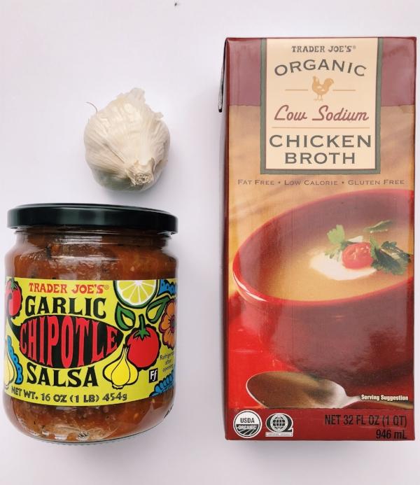 Trader Joe's, healthy soup recipe, crockpot, fall, winter, nutritionist, dietitian