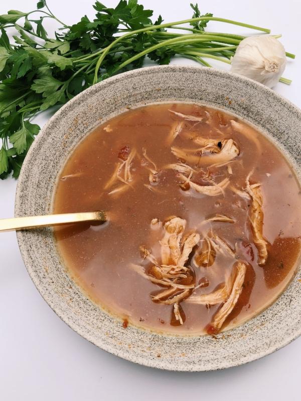 Chicken tortilla soup, west elm, soup, crockpot, instant pot