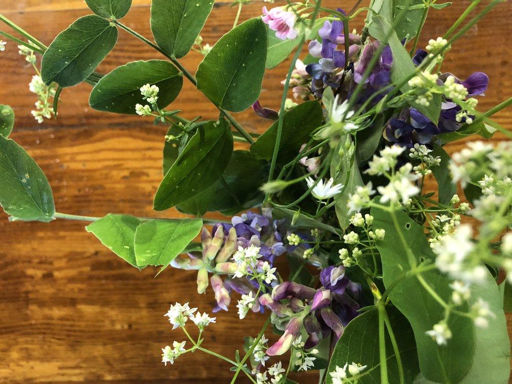 MacKinnon Island wildflower bouquet