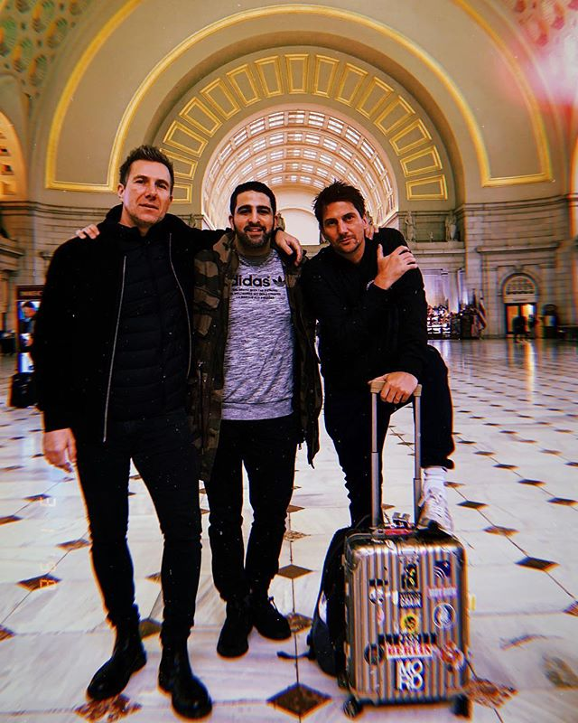 New York bound with @panpotofficial for the next two days. @mixmag Lab tonight, Knockdown Center tomorrow! 📷: @stillpeyman
