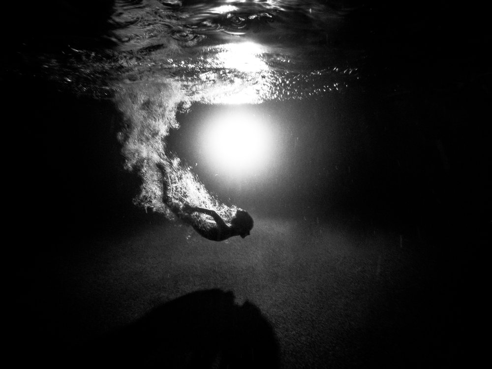 And lastly I'm going to add my contribution for the week because I got out there and tried something new- a little night pool photography. It is harder than it sounds you guys but I'm proud of myself for trying and getting a pretty rad silhouette!