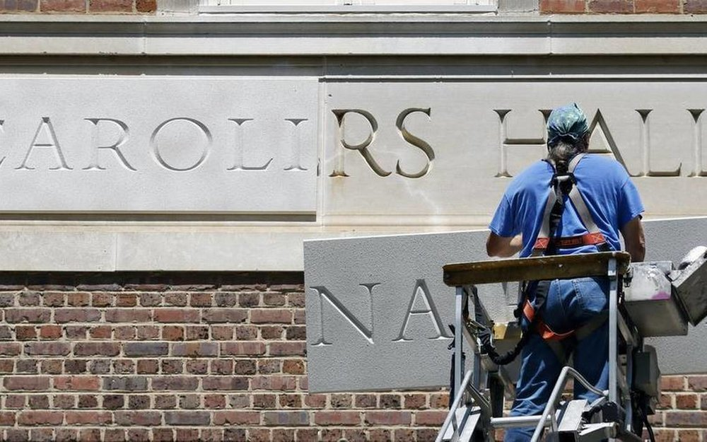 Saunders Hall renaming at UNC