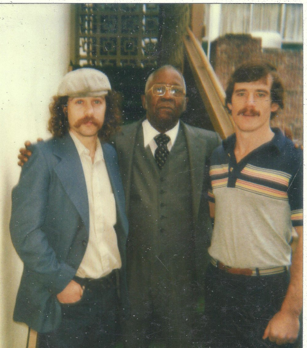 Me (l) with Virgil Hawkins (c) and Mark Roeder (r) in Tallahassee in 1983
