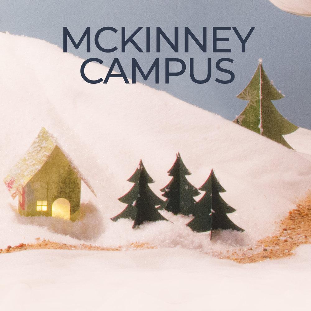 1702 W. UNIVERSITY DR. MCKINNEY, TX 75069 - Sunday, December 249:30 am11:15 am5:00 pm