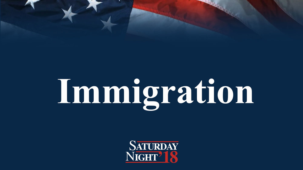 Immigration - Many Sunday church goers are trapped in the trappings of the Sunday struggle. Getting your kids up and out of the house on time is a chore. It's sad that they just don't know there's a better life for them here, on Saturday nights.If your family immigrates to Saturday nights, all your dreams will come true.