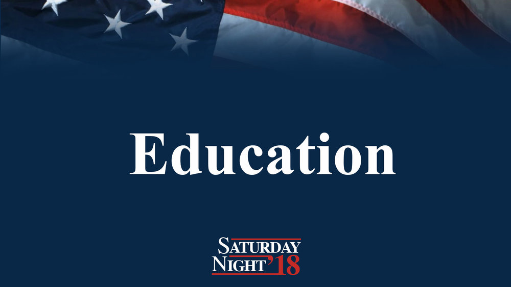 Education - Saturday night messages are the ones where John is at his most raw. You get both barrels of his thoughts for the weekend. Saturday night attendees, therefore, leave far more educated than Sunday attendees. It's science.