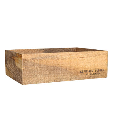 H&M Large Wooden Box