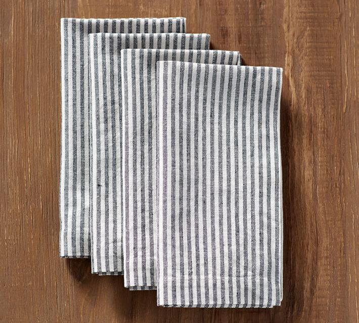 Ticking Stripe Napkin