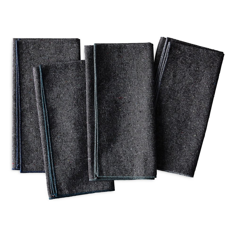 Heathered Charcoal Napkins