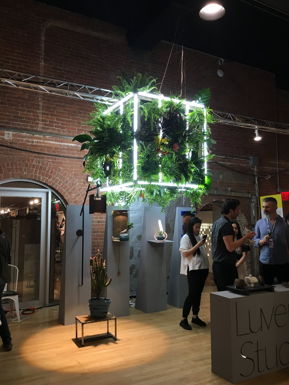 Photo of  Luvere Studio  installation at WantedDesign, New York 2018
