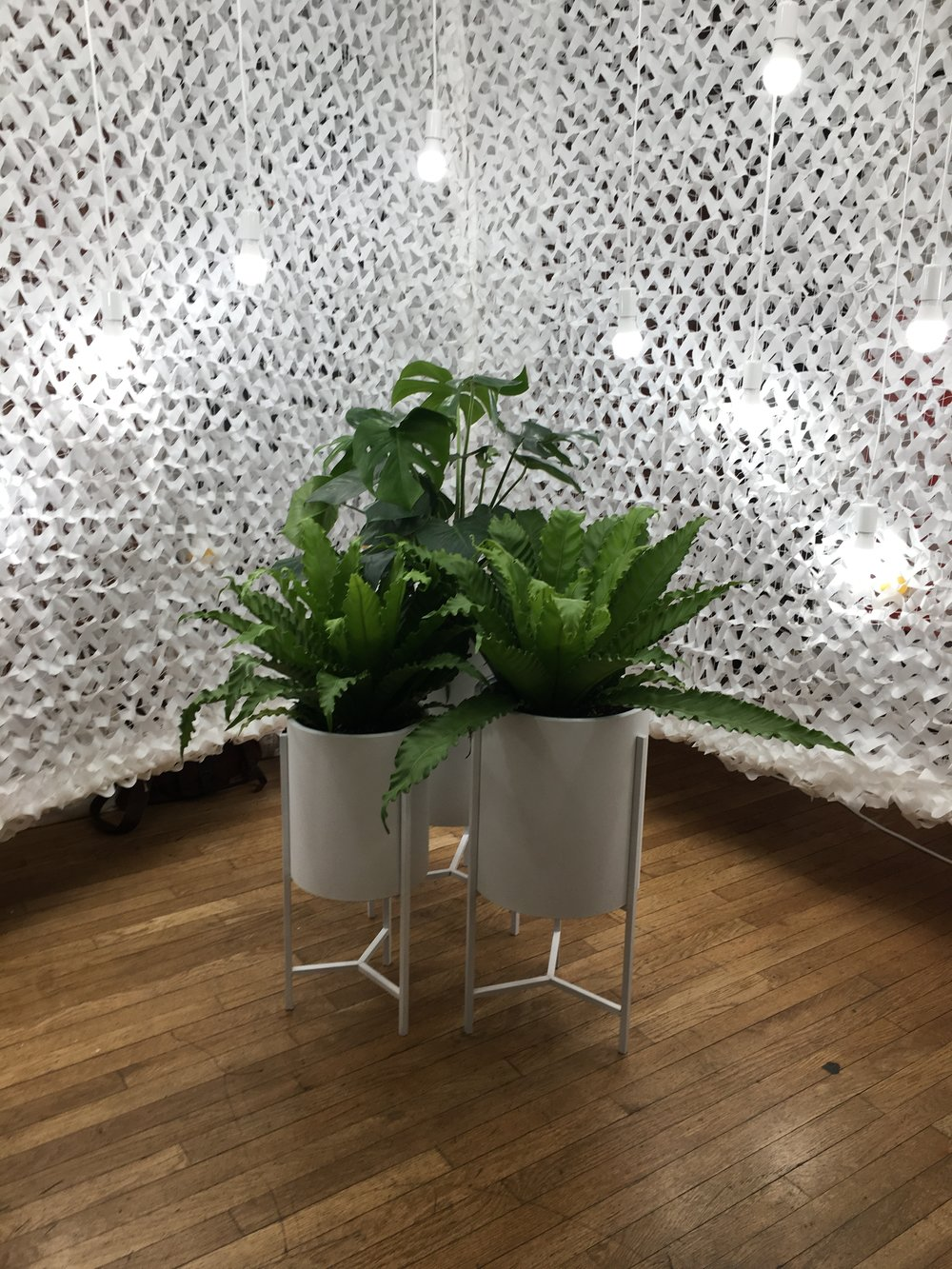 Photo of Lighting Science's installation at WantedDesign, New York 2018