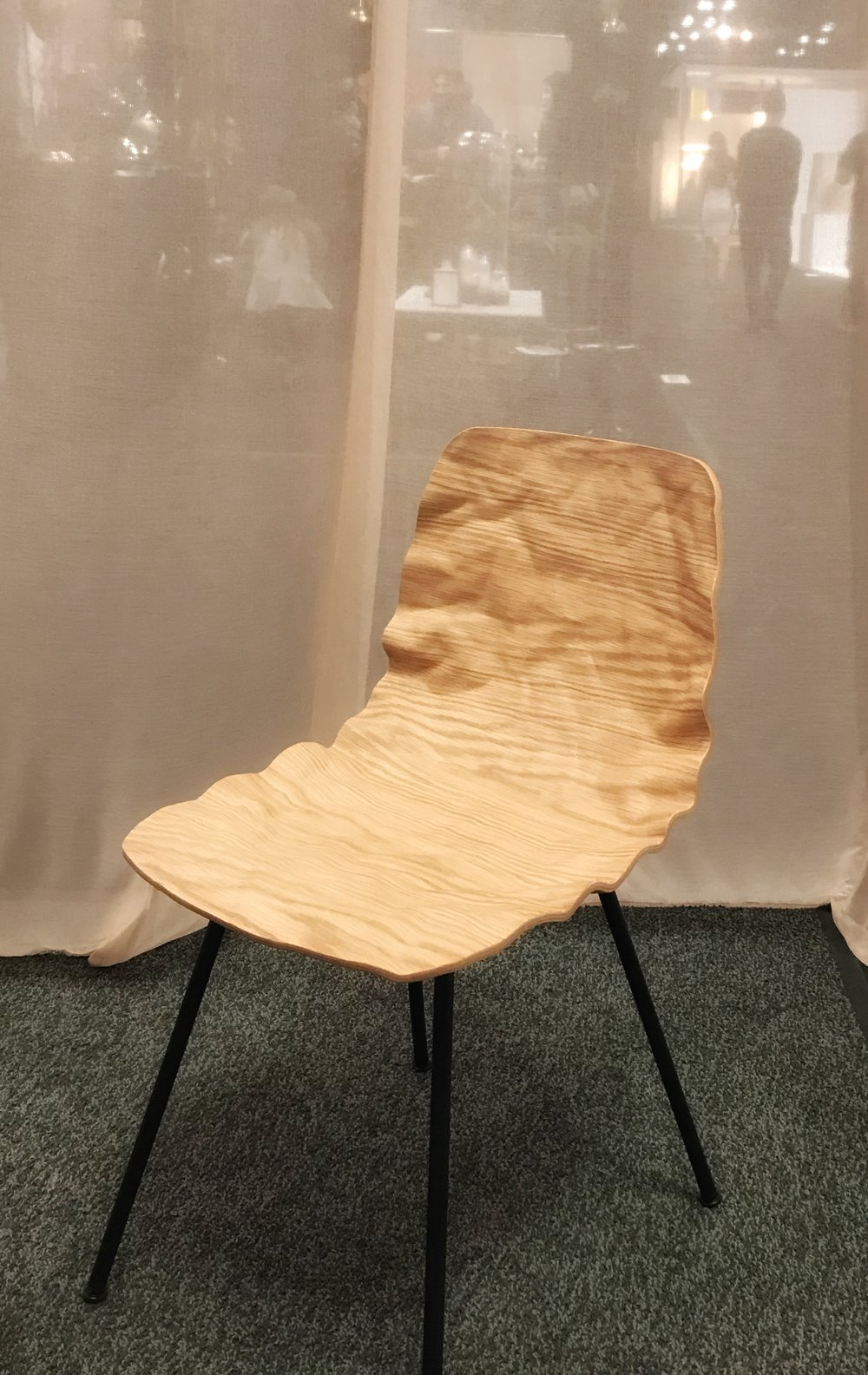 Photo of  Fogia  newest chair, ICFF, New York 2018