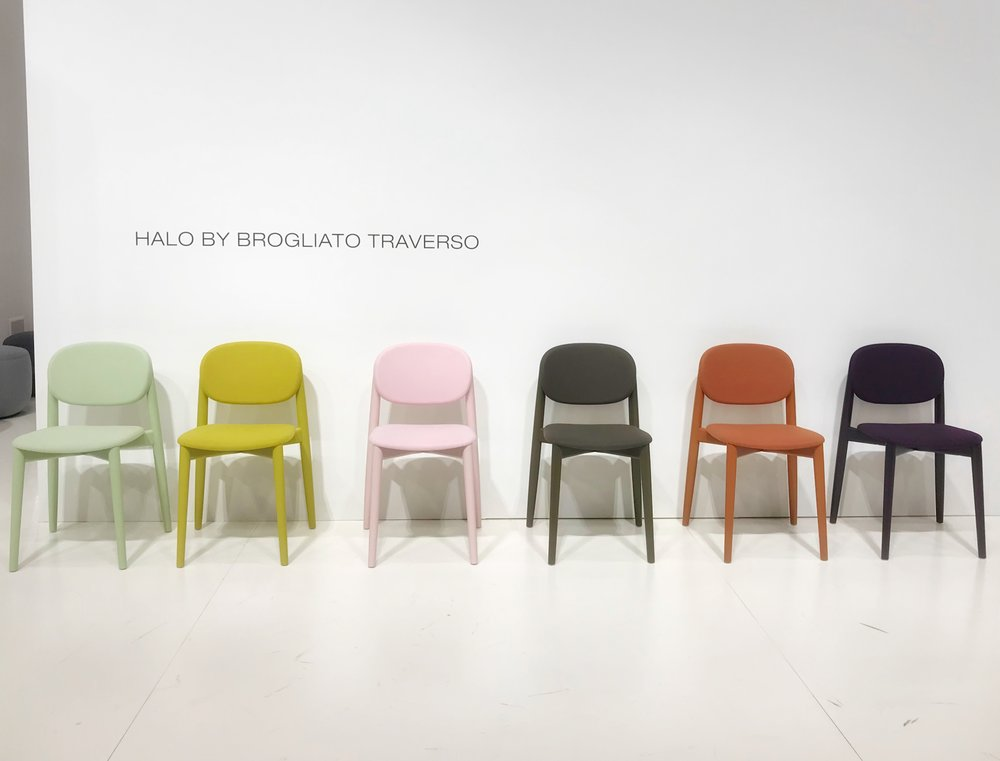 Photo of Halo by  Brogliato Traverso  color range, ICFF, New York 2018