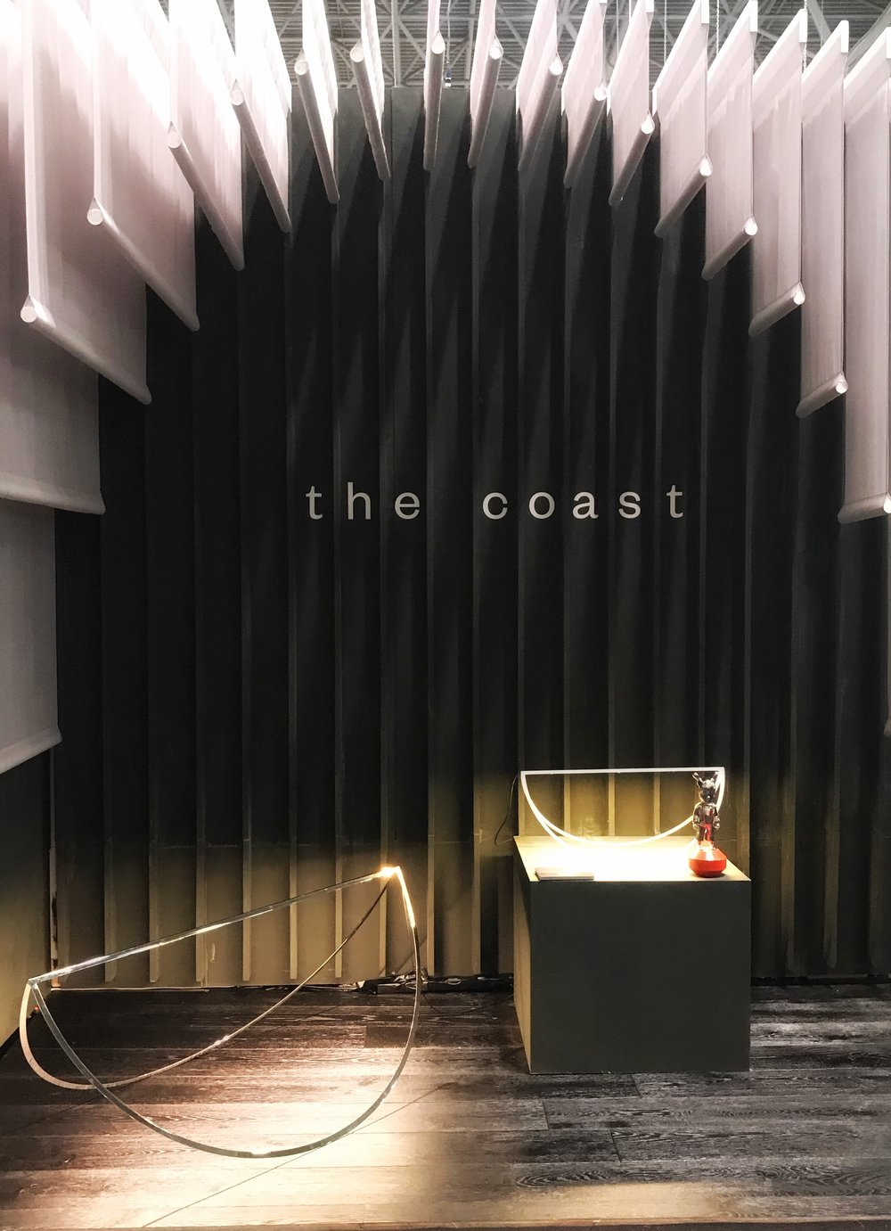 Photo of  T  he Coast , another Collective Collaborative booth, ICFF, New York 2018