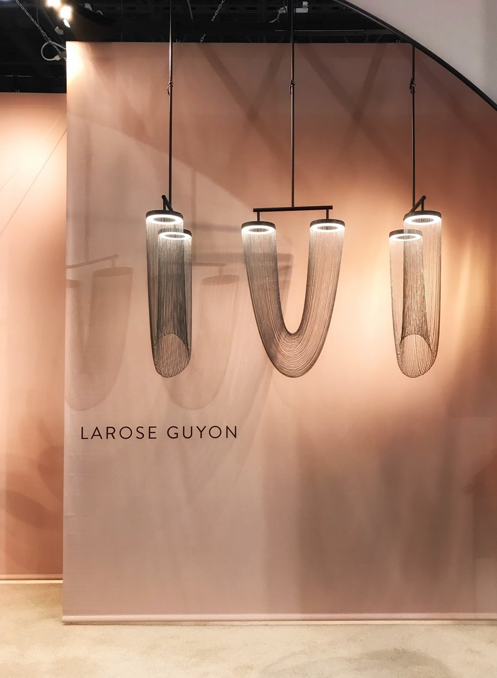 Photo of Larose Guyon's Otero in multiples, ICFF, New York 2018