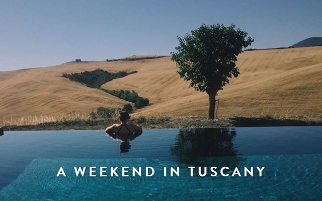 Tuscany is a huge region in northern Italy, and Amanda & I have covered quite a bit of territory! Check out our latest blog post for some inspiration if you're looking to head to this beautiful area! (Link in Bio)
