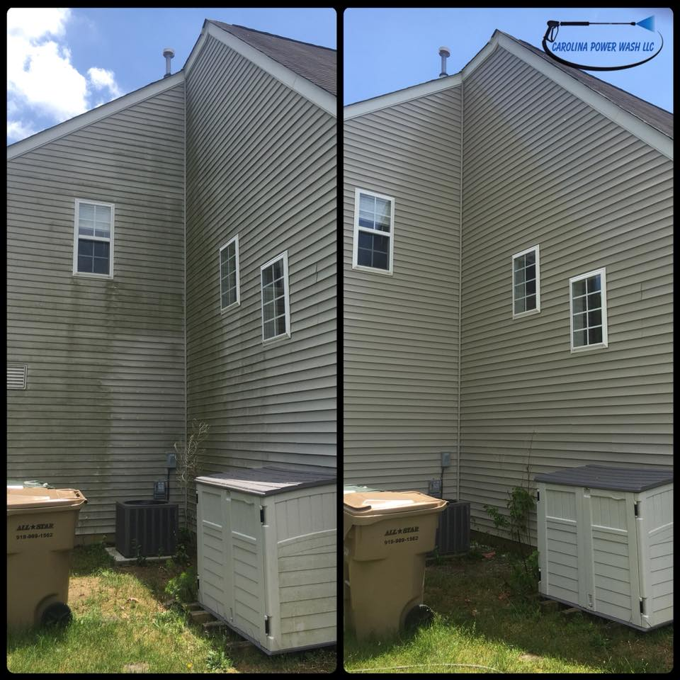 Pressure washing in Clayton, NC