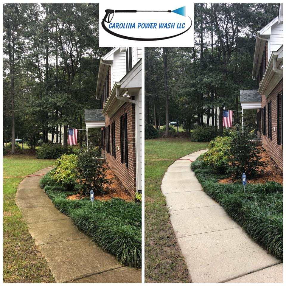 Pressure washing in Raleigh