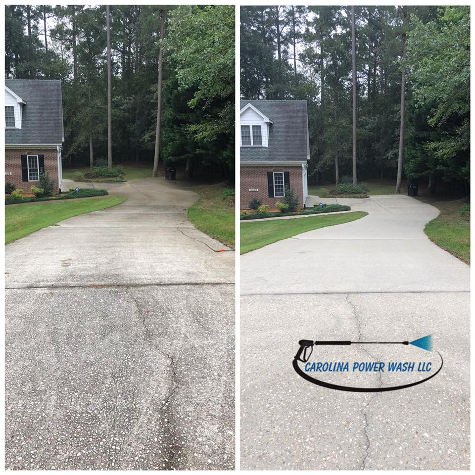 Power washing in Raleigh