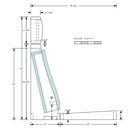 Concept to CAD — Pacific Frame, Inc. on weir detail, wall detail, parapet detail, sagrada familia detail,